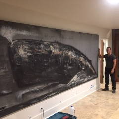 Jose Bedia Artwork installed in Vail, CO